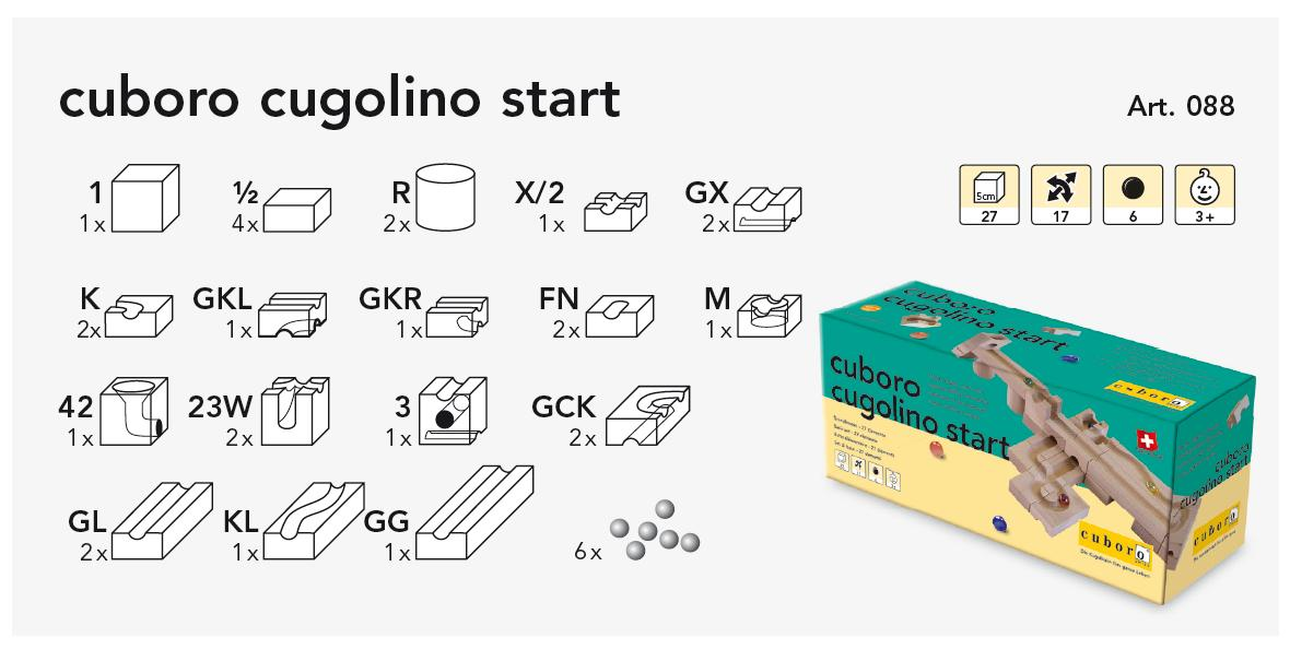 cuboro cugolino start Kasteninhalt