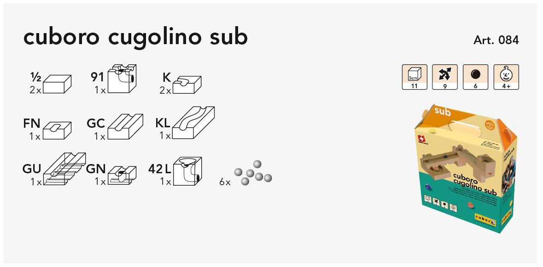 cuboro cugolino sub Kasteninhalt